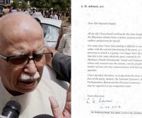 Text of Advani's resig...