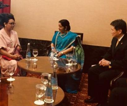 Swaraj calls for deeper economic ties with ASEAN
