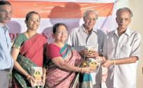 Book on Kamakshi Kritis released