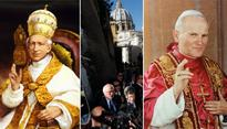 Are Pope Leo XIII and John Paul II feeling the Bern?