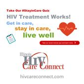People Living with HIV in Illinois Encouraged to Take HIV #StayinCare Quiz