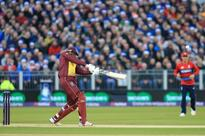 Watch: Gayle completes century of sixes in T20Is