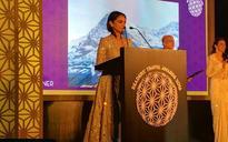 Aditi Rao Hydari looks stunning at the Condenast Traveller Awards