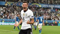 Mesut Ozil voted Germany's Player of the Tournament at Euro 2016 by fans
