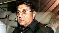 N Srinivasan set to represent Tamil Nadu Cricket Association at BCCI SGM