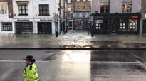 Islington burst water main: More than 100 evacuated as homes flooded in affluent neighbourhood