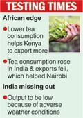 Catch-up with Kenya in tea exports