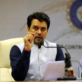 'Hope Indian cricket continues to prosper under Anurag Thakur'