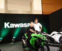 Kawasaki Ninja 300 superbike launch images from Pune