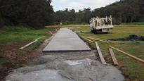 Dog owners fume over cycle track being built on their park