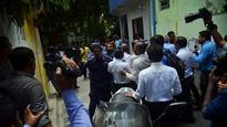 Maldives opposition parties say blocked from entering parliament for impeachment vote