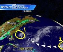 Tropical Storm Lisa Forms in the Eastern Atlantic Ocean