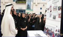 Mohammed bin Rashid visits Zayed University