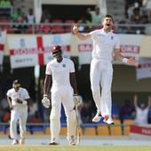 Cricket: James Anderson rips through West Indies; England aim to clinch second test