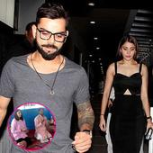 This pic of Anushka Sharma performing rituals ahead of her engagement with Virat Kohli is going viral