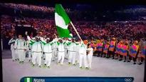 How Nigerian athletes wore tracksuits at Rio 2016 opening parade