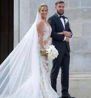 PHOTOS: Dominika Cibulkova sizzles in wedding gown