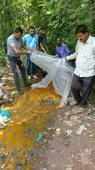 Excise Deptt destroys 550 Kgs Lahan