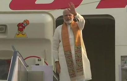 PM leaves for Wuhan for informal summit with President Xi
