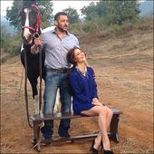 Elli Avram shoots with Salman Khan for latest Being Human campaign