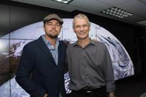 Leonardo DeCaprio visits NASA to discuss climate change