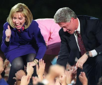 From US First Lady to possible first female president, Hillary's done it all