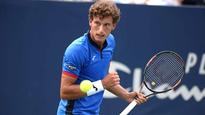Tennis: Gritty Carreno Busta wins Kremlin Cup