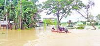 244 families homeless as floods erode villages