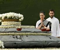 Rajiv Gandhi paid floral tribute on 22nd death anniversary