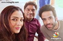 FUN TIME: Tabu with Tusshar & Johnny Lever for 'Golmaal Again'
