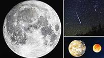 Super-moon lightens December skies