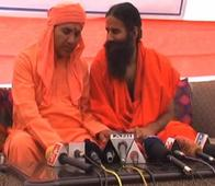 Baba Ramdev CAUGHT ON CAMERA advising BJP candidate not to talk about BLACK MONEY before media
