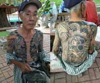 Japanese Yakuza Boss On the Run for 14 Years Caught in Thailand After Photos of His Tattoos Go Viral