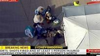 Police shoot armed man in Sydney mall