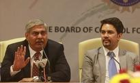 Manohar resigns as BCCI chief ahead of ICC elections.