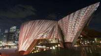 Check out the incredible pictures of Sydney Opera House being lit up with indigenous art