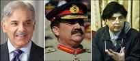Chaudhry Nisar, Shahbaz Sharif meet General Raheel Sharif
