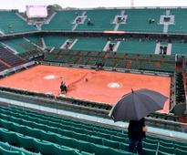 French Open 2016: Rain forces first Roland Garros washout in 16 years