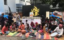 NSD Bengaluru chapter students evicted from premises due to non-payment of rent, hold protests