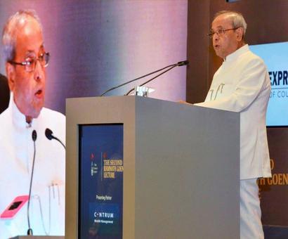 Spirit of tolerance is what makes us Indians: President Pranab Mukherjee