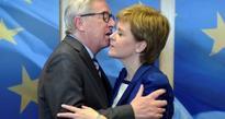 Sturgeon pushes against half-closed European Union  door