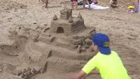 Lots of creativity at Cavendish Beach sandcastle competition