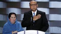 Father of fallen Muslim soldier targets Donald Trump in speech