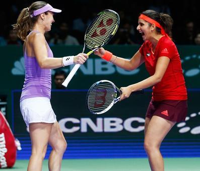 Sania-Martina juggernaut continues; win 38th straight match