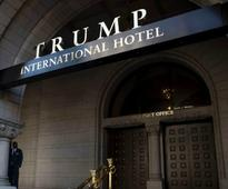 Man Burns Self Attempting to Start Fire Outside Trump Hotel D.C.