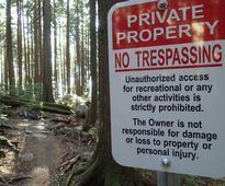 Mount Seymour No Trespassing signs disappear: mountain biker