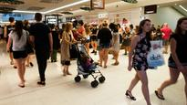 Crowds surge for Boxing Day bargains