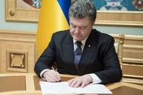 President enacts new military-administrative division of Ukraine 05.02.2016 19:53