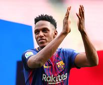 Copa del Rey: Barcelona's Yerry Mina set to make debut in place of injured Gerard Pique in semis clash against Valencia