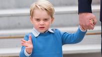 Prince George doesn't have time for high fives from Justin Trudeau